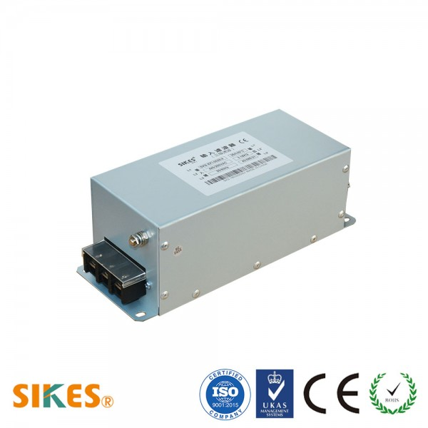 EMC/EMI Filter 3 phase Input, Rated current 25A [Vertical]