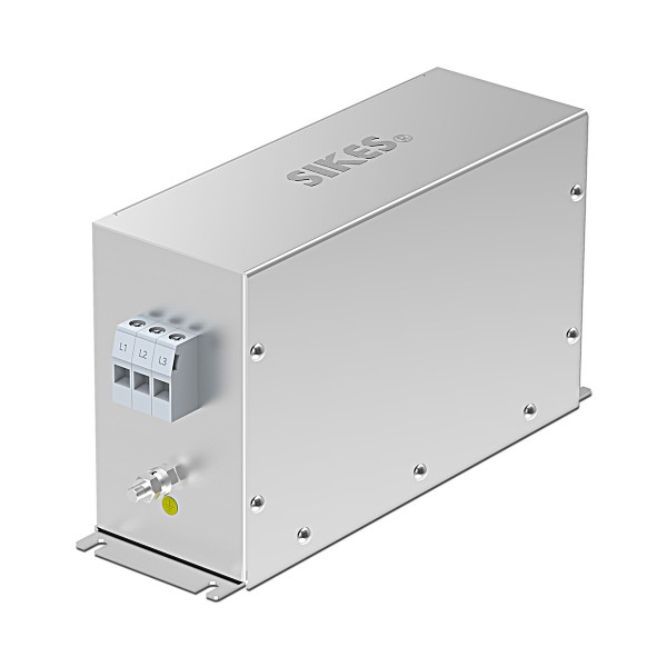 EMC/EMI Filter 3 phase Input, Rated current 55A [Vertical]