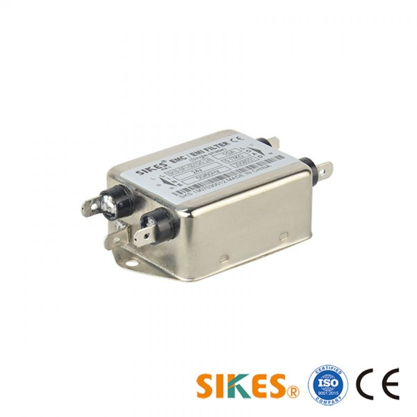 Single Phase EMC Filter Rated current 10A STFI-Series