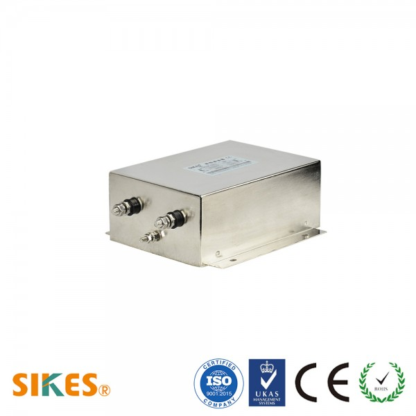 High Performance Single Phases EMC-EMI filter 60A